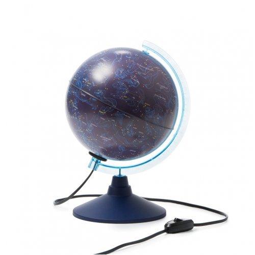 Астрономия. Модель. Глобус звездного неба, диам.210 мм. с подсветкой