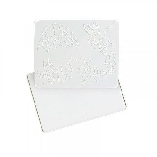 Доска для лепки с рельефным трафаретом. А5 (Луч)
